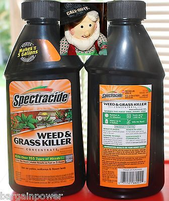 2 Spectracide WEED & GRASS KILLER 16 oz Concentrate makes 5