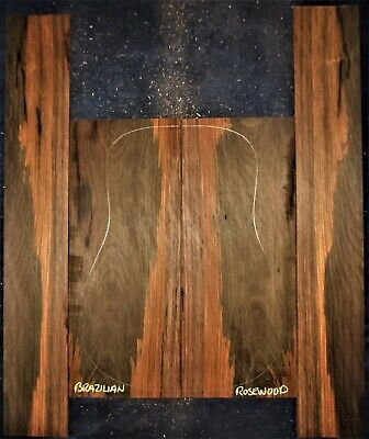 Guitar Luthier Tonewood BRAZILIAN ROSEWOOD Acoustic backs sides back side SET