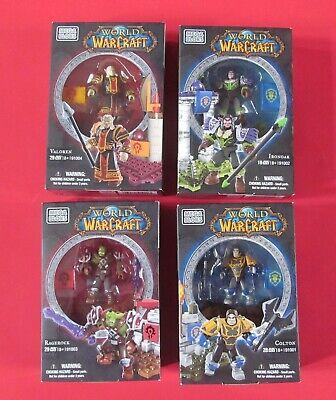 New - Mega Bloks Figure Bundle World of Warcraft - Ironoak, Ragerock,...