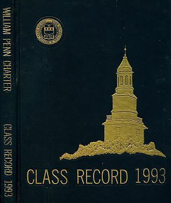 William Penn Charter School  Phil  Pa  1993  Class Record  Yearbook