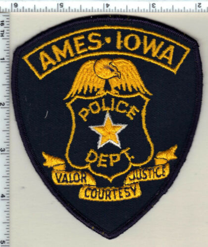 Ames Police (Iowa)  Shoulder Patch - new from the early 1980