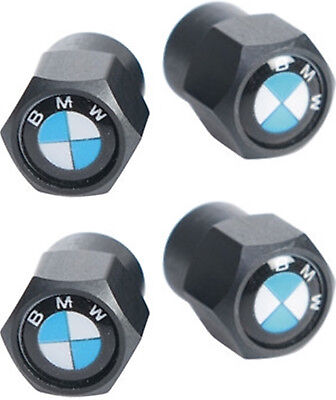 BMW Auto Ventilkappen   Schwarz   1er 3er 5er 7er X1 X3 X5 X6 M3 M5 M6   NEU