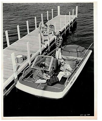 1960s Evinrude Outboard Motors Sales Photo Boating #4
