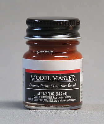 TESTORS PAINT MODEL MASTER RUST ENAMEL 1/2oz plastic car 1785 NEW