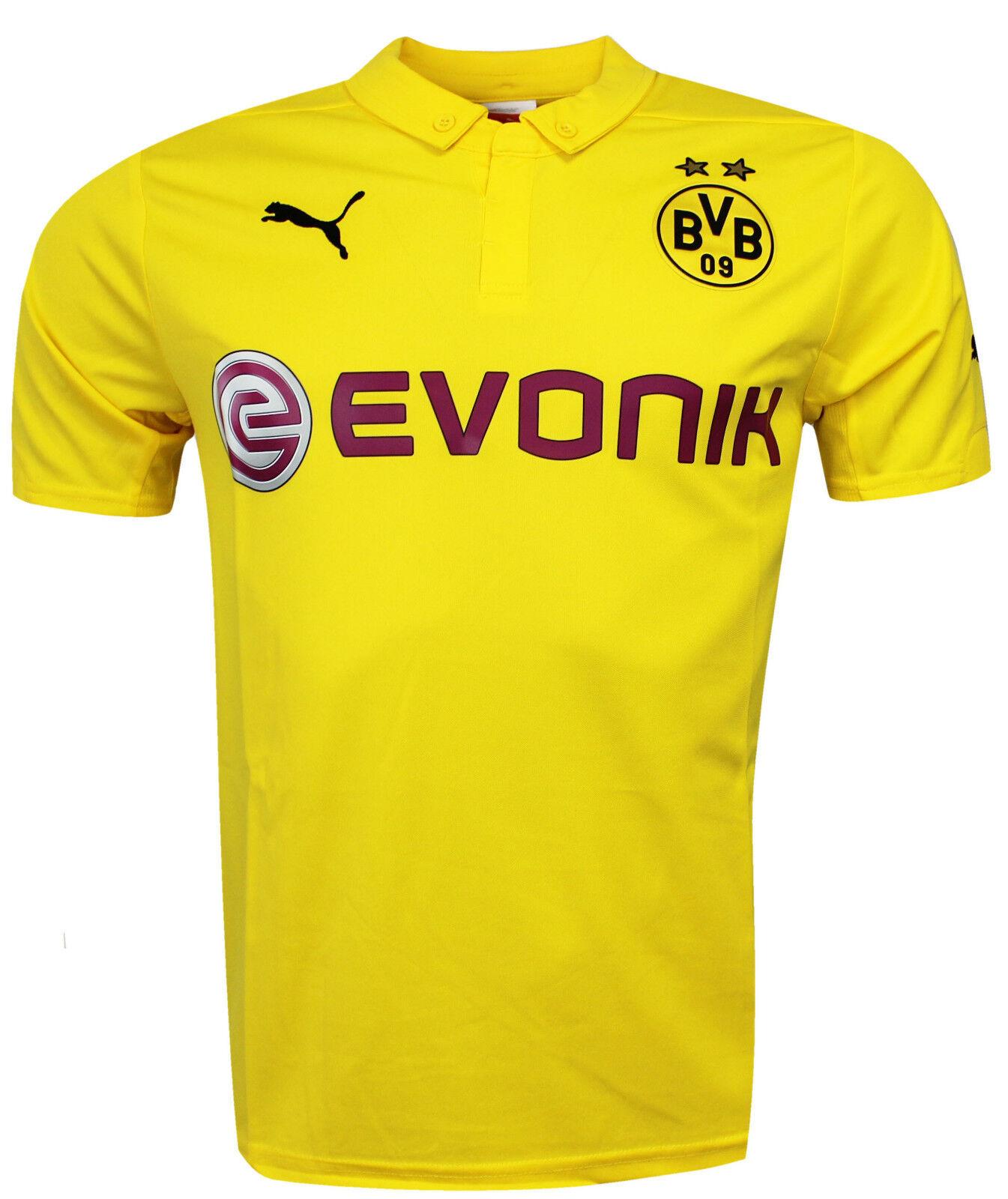 Puma Bvb Borussua Dortmund Réplica Fútbol para Hombre Camisa ... 28424a4a5a293