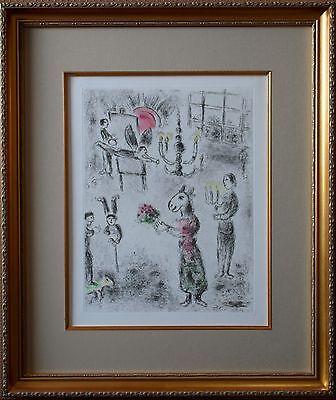 Marc Chagall - Plate from Celui qui dit les choses, Original Etching w/ Aquatint