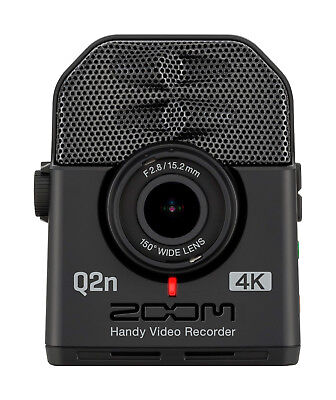 New Zoom Q2N-4K 4K Handy Video Camera with XY Mic Make Offer!! Auth. Dealer!!
