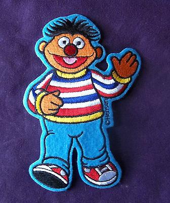 Sesame Street Ernie Emroidered Patch Bert And Ernie Muppets Big Bird Diy