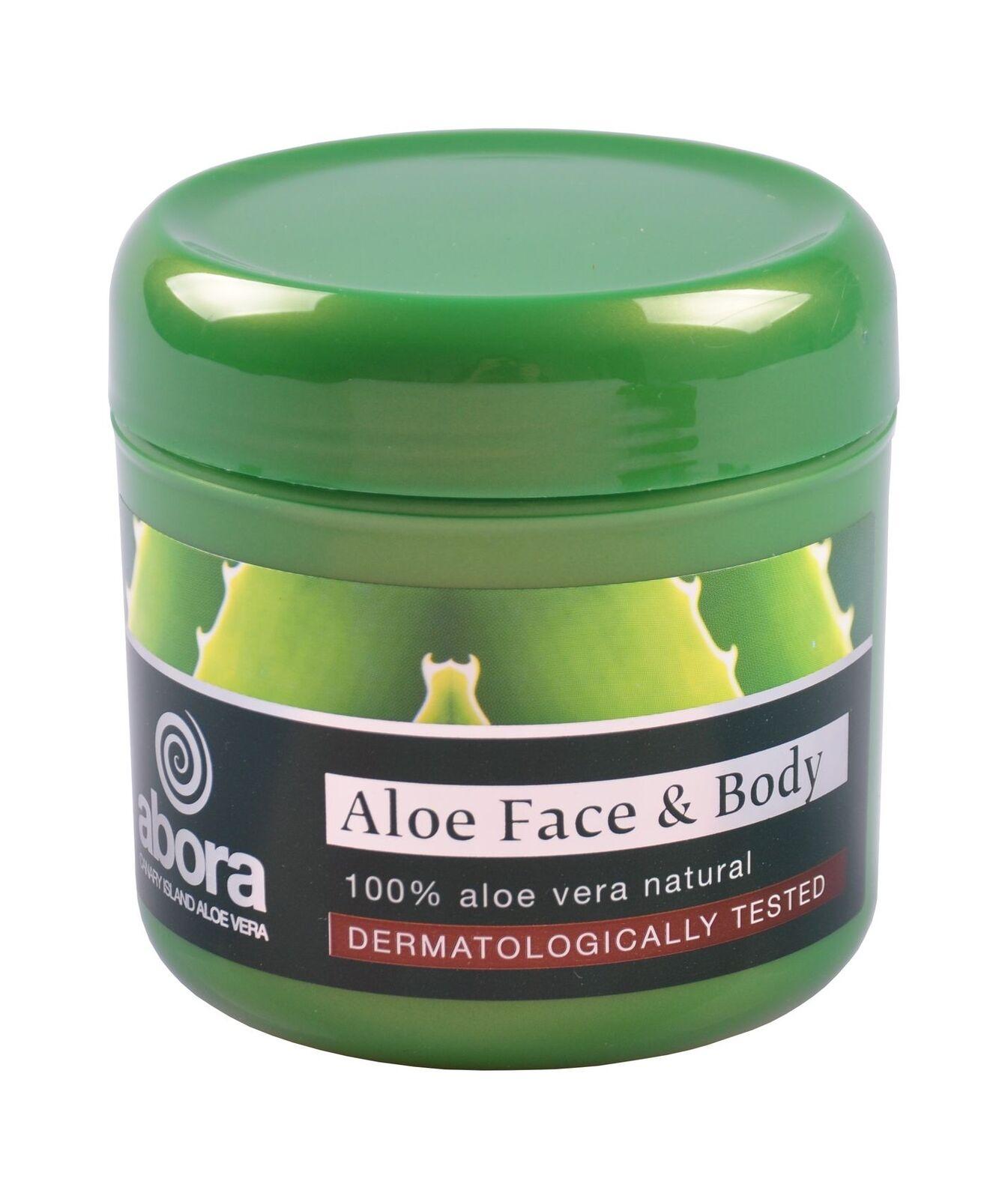Abora Aloe Vera Face and Body Cream 300ml Gesichtscreme Körpercreme Pflege Creme
