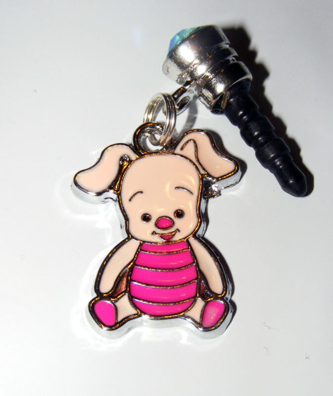 Piglet Poohs friend Cell Phone Dust Plug