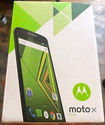 Motorola MOTO X Play - 16GB - Black (Unlocked) Smartphone - cracked screen