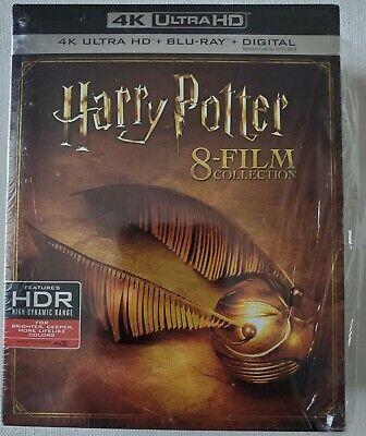 Usado, HARRY POTTER 4K BLU RAY 8 FILM COLLECTION 16 DISC SET + SLIPBOX FREE SHIPPING comprar usado  Enviando para Brazil