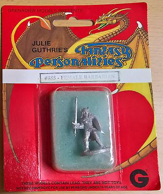Grenadier #855 Fantasy Personalities - Female Barbarian (Sealed, Near Mint)