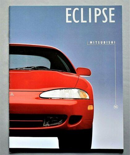 "ORIGINAL 1995 MITSUBISHI ECLIPSE SALES BROCHURE ~ 16 PAGES ~ 8.5"" X 11"" ~ T95E"