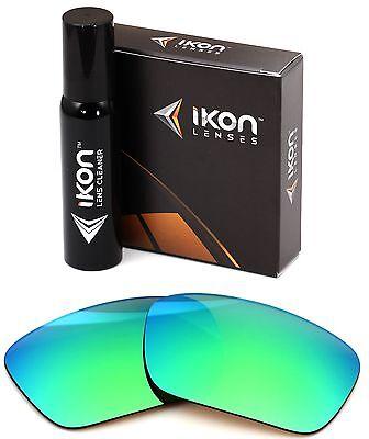 Polarized IKON Replacement Lenses For Costa Del Mar Zane Emerald Mirror