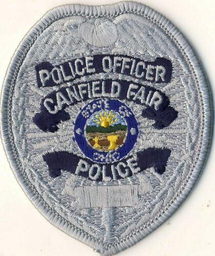 """Canfield Fair Police Officer OH Ohio 3"""" Patch"""