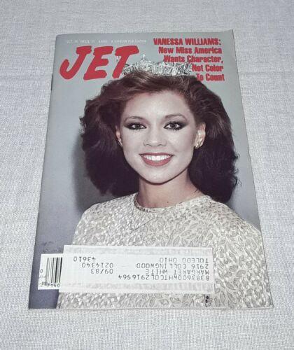 JET MAGAZINE VANESSA WILLIAMS COVER OCTOBER 10 1983
