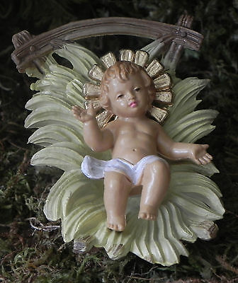 Baby Jesus Nativity Set Figurine Creche Manger Scene Presepio Pesebre