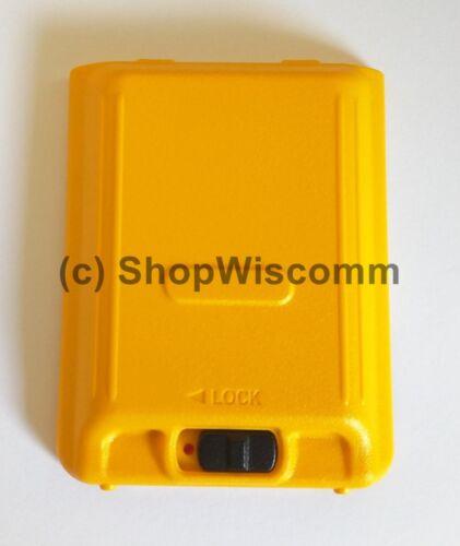Motorola Solutions EVX-S24 Replacement Yellow Battery Door CB7191000
