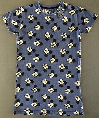 Kurzarm-nachthemd (Disney Mickey Mouse Nachthemd Damen Kurzarm Bigshirt Schlafshirt XS-S-M-L-XL Neu)