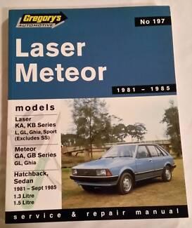 ford laser mazda 323 workshop manual 1990 ka ke nonfiction rh gumtree com au Ford Racing Laser 1981 Harga Ford Laser 1300 CC