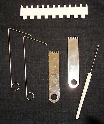 tool set for all standard gauge ribber attachment Brother/SilverReed/Singer
