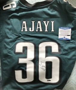 brand new 7df84 f1e5d Jay Ajayi Autographed NFL Philadelphia Eagles Jersey with ...