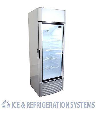 Acadia Commercial Glass Door Soda Beer Refrigerator Cooler Merchandiser XLS250FC