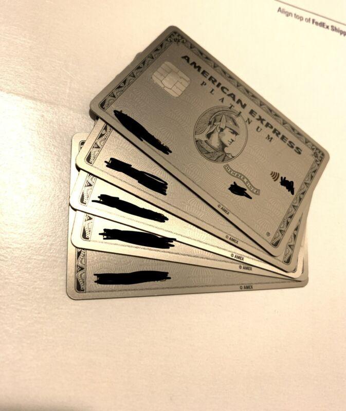 American Express AMEX METAL Platinum Card