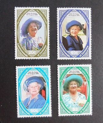 Dominica 1990 Queen Mother's 90th Birthday UM MNH unmounted mint