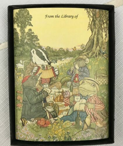 Bookplates - Wind in the Willows - Self Stick - Vintage