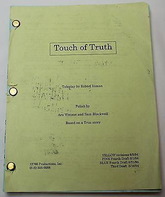 Robert Inman / Touch of Truth, 1994 Movie Script Screenplay,  Patty Duke