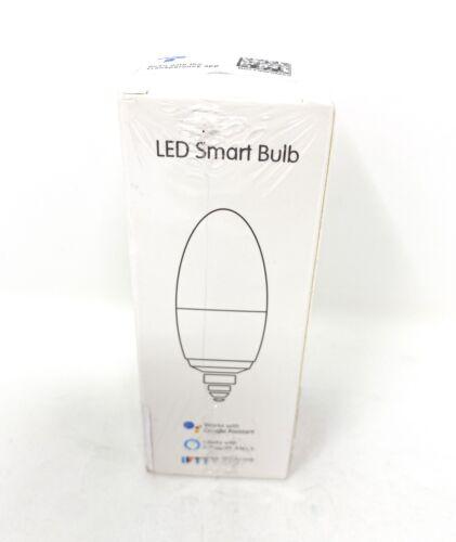 Aoycocr LED Smart Light Bulb Candelabra - 5W 400 Lumens, 270