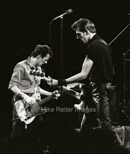 Joe Strummer & Paul Simonon of The Clash Photographic Print 1979 Punk Rock