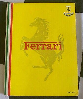 FERRARI OWNERS CLUB FOC MAGAZINE SPRING 1971 VOL 3 No 3 512 S 365 GT GTC TEST