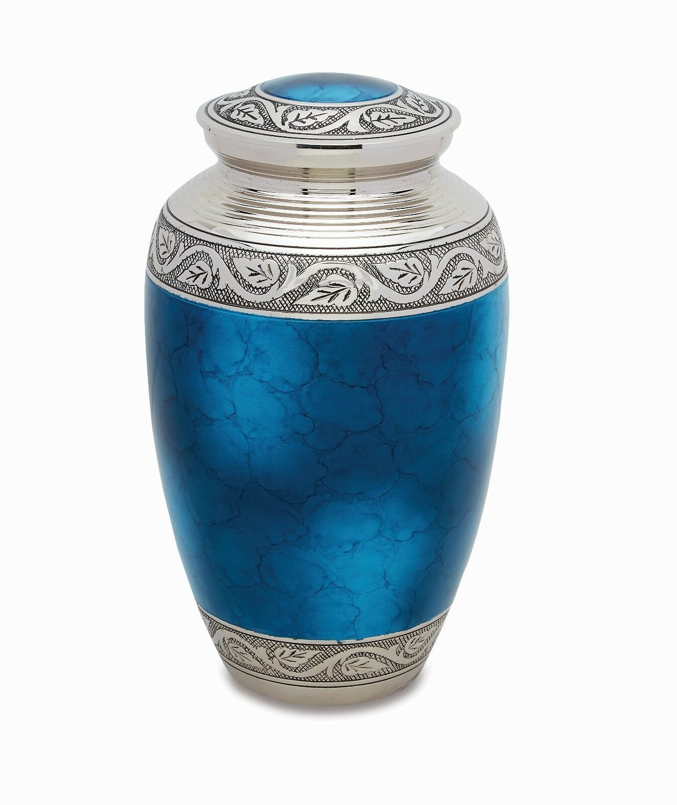 Blue Grecian Adult Cremation Urn