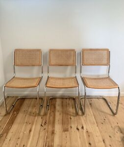 Vintage Timber & Rattan /Cane Cesca /Marcel Breuer table & chair set