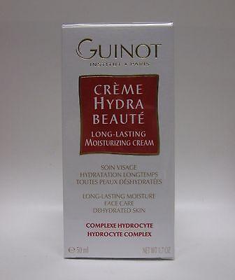 Guinot Creme Hydra Beaute Long Lasting Moisturizing Cream 1.7 oz / 50 ML New  - Long Lasting Moisturising Cream