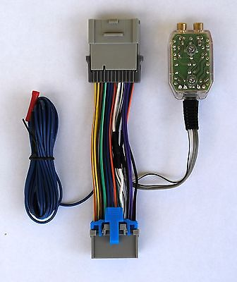 Factory Radio Amp Amplifier Interface Install Adapter Wiring Wire Harness Cable Radio Amp Interface