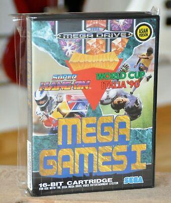 SEGA MEGADRIVE Mega Games I PAL ASIA Version Genesis MegaGames 1 /...