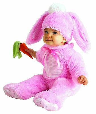 Rubie's Infant Pink Bunny Rabbit Easter Halloween Costume size 0-6months