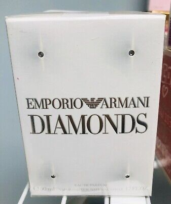 emporio armani diamonds for women 1.7oz Perfume New In Sealed Box!