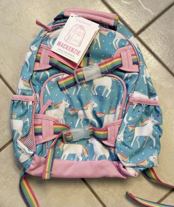 Free Shipping Pottery Barn Kids Mackenzie Aqua Unicorn Small Backpack