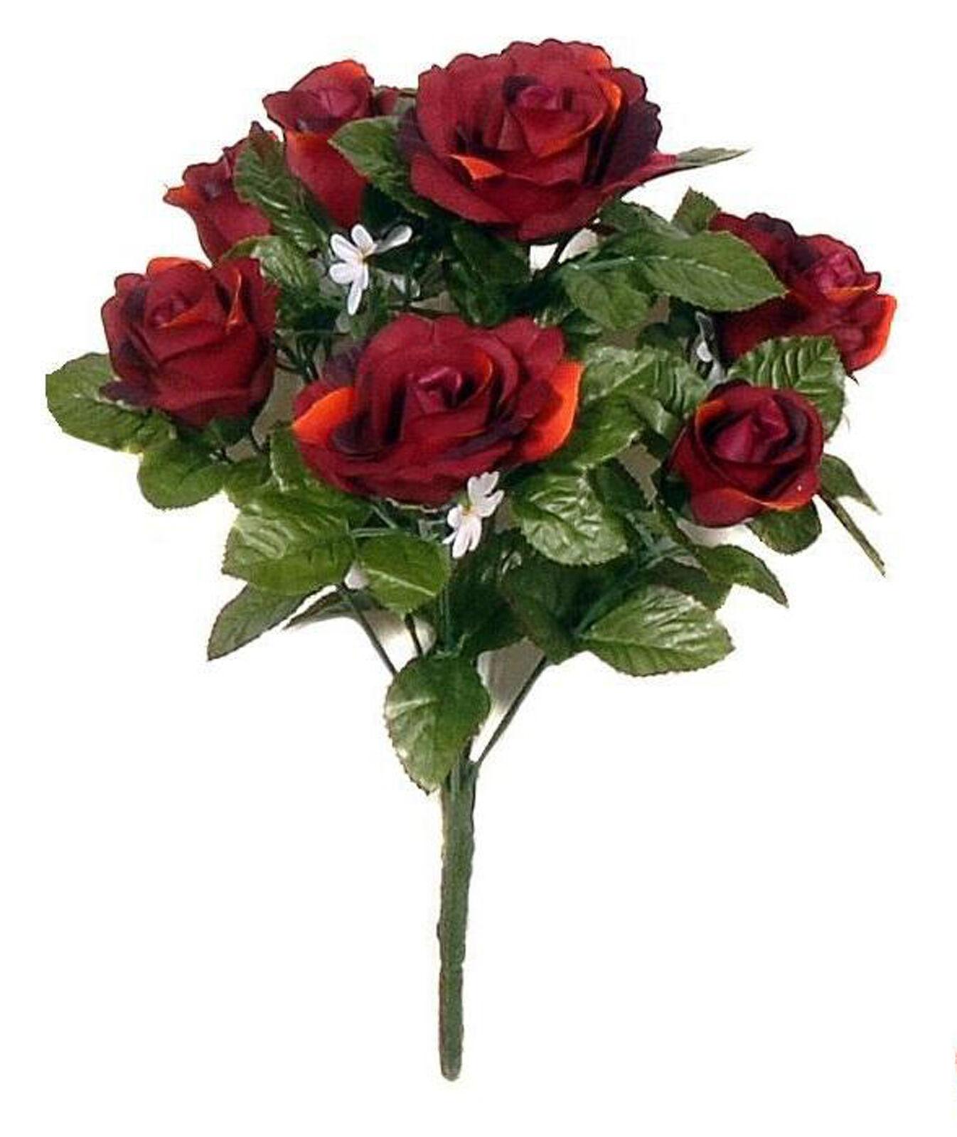 Wedding bouquets ebay burgundy wedding bouquet izmirmasajfo