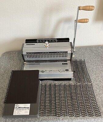 Akiles Wiremac 21 Manual Double Loop Wire Binding Machine