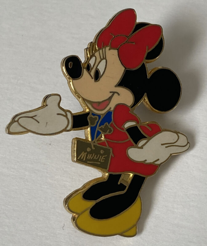 Disney Trading Pin Minnie Mouse Pin Walt Disney World Trading Starter Set