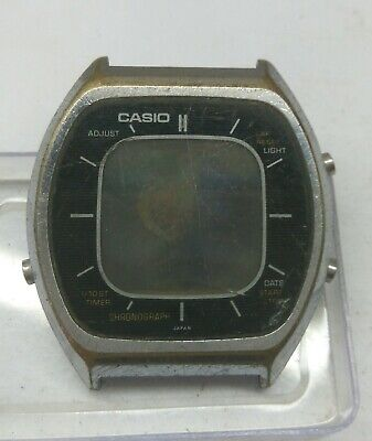 VINTAGE CASIO 56QS-38 DIGITAL CHRONOGRAPH WATCH FOR PARTS/REPAIRS & WATCHMAKERS
