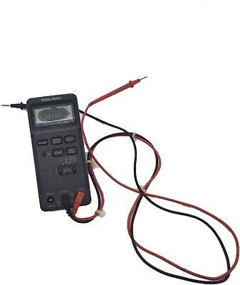 Radio Shack Auto Ranging Lcd Digital Multimeter 22-163