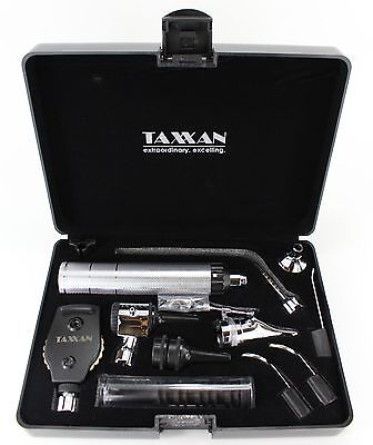 Premium Ent Diagnostic Otoscope Ophthalmoscope Nasal Speculum Wextras
