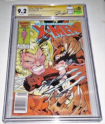 Uncanny X-Men #213 3x CGC SS Signature Autograph STAN LEE CLAREMONT SHOOTER Mark